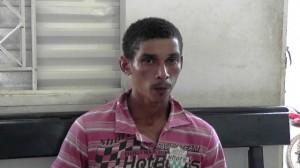 Romário de Jesus da Silva, 23 anos, preso por tentativa de homicídio