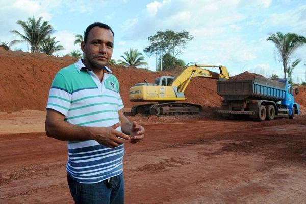 Para prefeito Clayton Paulo, obras vão facilitar acesso à cidade de Nazaré