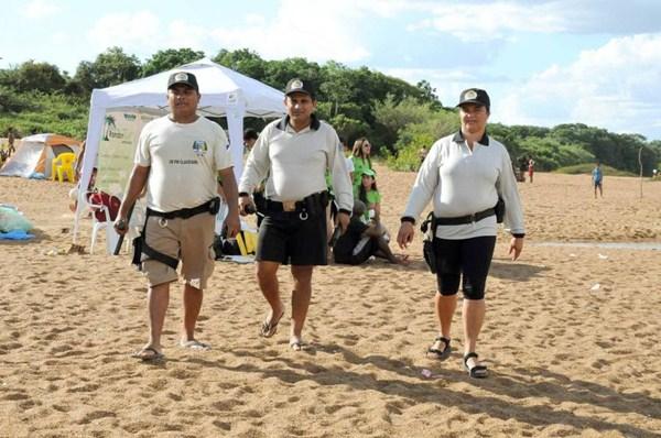 Além da estrutura da praia, apoio do governo do Estado também inclui presença do Corpo de Bombeiros