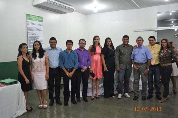 Autoridades e monitores do PRONATEC
