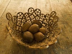 Artesanato feito com o coco babaçu
