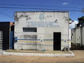 Prédio da Delegacia da Receita Estadual em Araguatins