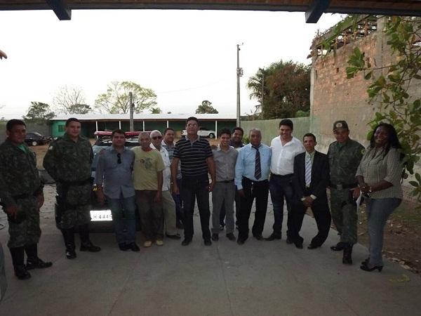Visita ao CIPAMA após audiência pública