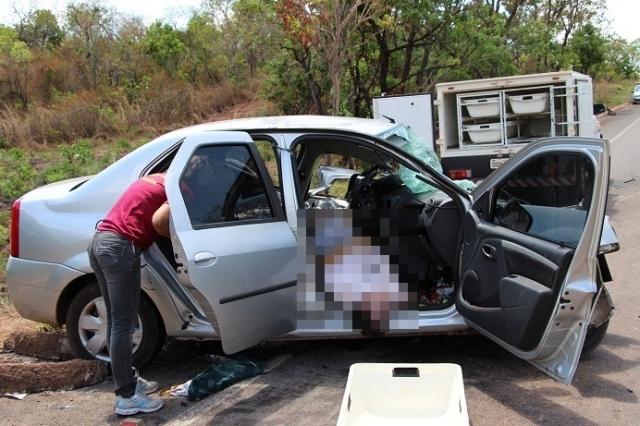 Acidente na BR-153, entre Aliança e Gurupi, matou uma pessoa e deixou duas feridas