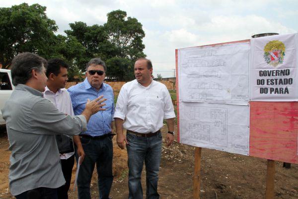 Visita a construção da Unidade Integrada Pro Paz (UIPP).