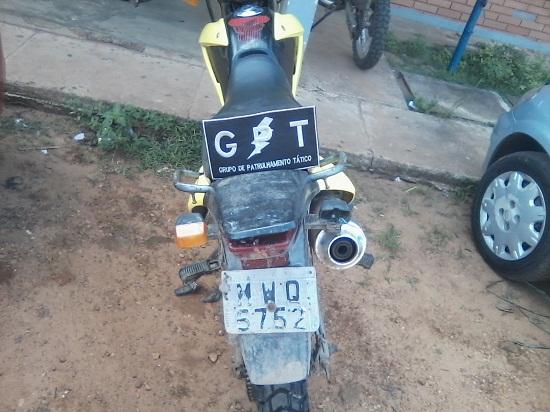 Moto trazeira -Fotos Cb PM Adailtw