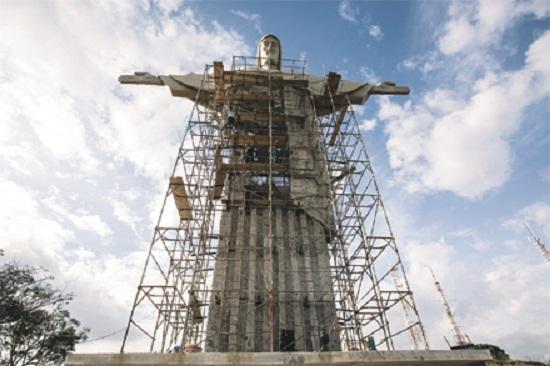 Palmas terá até maio a sua estátua da imagem de Cristo para adoração. O trabalho está sendo executado no Ceará. (Imagem ilustrativa)