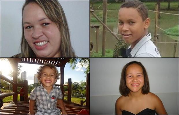Esposa e filhos assassinados no TO