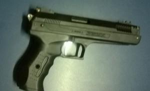 Simulacro de arma de fogo