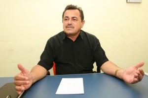 José Roque, presidente do Sintet