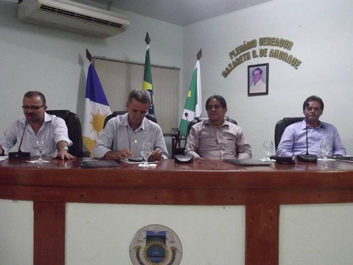 Prefeito de Marabá, João Salame (PPS); de São Domingos do Araguaia, Pedro Paraná (PPS), Josenildo Marques, secretário de Administração de Araguatins e o Vanderlucio (PMDB), prefeito de Vila Nova dos Martírios