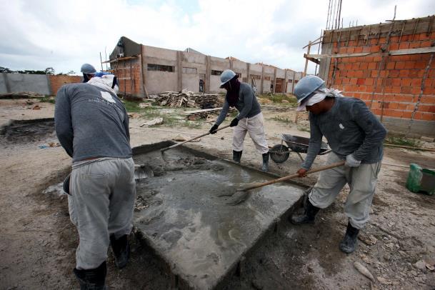 Um dos setores que mais contribuiu para esse saldo foi o da construção civil, que liderou o ranking de novas contratações em Canaã dos Carajás