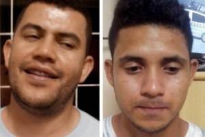Adonias à esquerda; Paulo Ricardo à direita