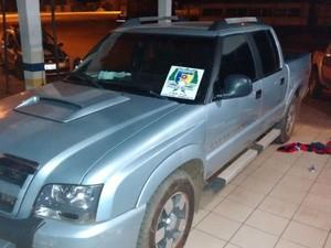 Veículo usado pelos suspeitos havia sido roubado no Pará
