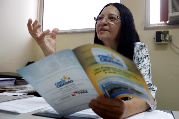 Tetê Santos, do CredCidadão, disse que o programa contribui para que as pessoas que não tiveram oportunidade de trabalho iniciem o próprio negócio