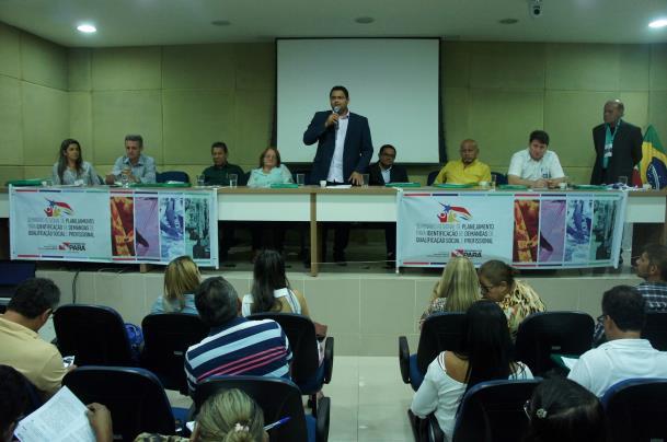 Secretário adjunto da Seaster, Everson Costa destacou a força da pecuária, mineração, construção civil e siderúrgica no sul e sudeste do Pará.