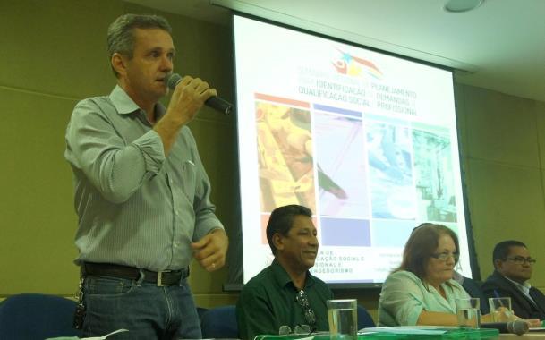 """""""As orientações que recebemos no seminário foram fundamentais para que possamos identificar nossas demandas"""", destacou o prefeito Pedro Patrício"""
