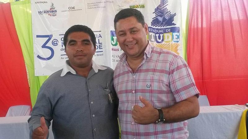Elisvan e Ricardo Ribeirinha