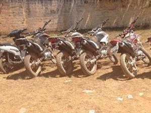 Motos roubadas foram devolvidas aos proprietários em Canaã dos Carajás.
