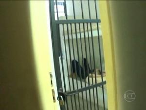 Lidiane Leite presa na Polícia Federal, em São Luís