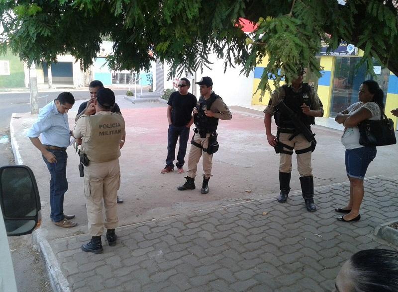 Abordagem aconteceu na avenida Goiás