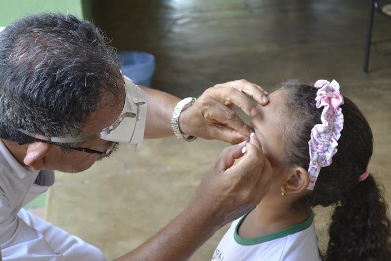 Atendimento Tracoma-Governo do Tocantins