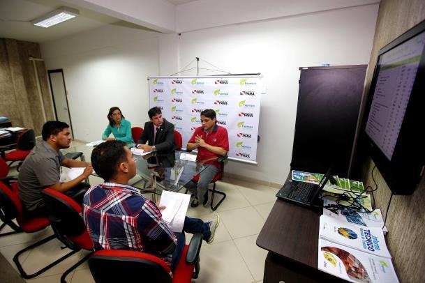 O resultado do Produto Interno Bruto (PIB) do Pará em 2013 foi divulgado na manhã desta quinta-feira (19), em entrevista coletiva na Fapespa