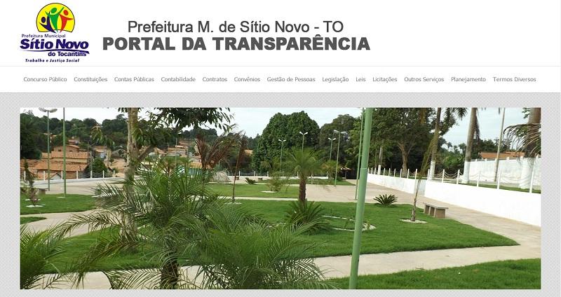 portal sitio novo