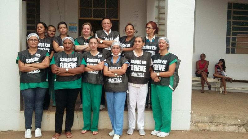 Funcionários em Augustinópolis