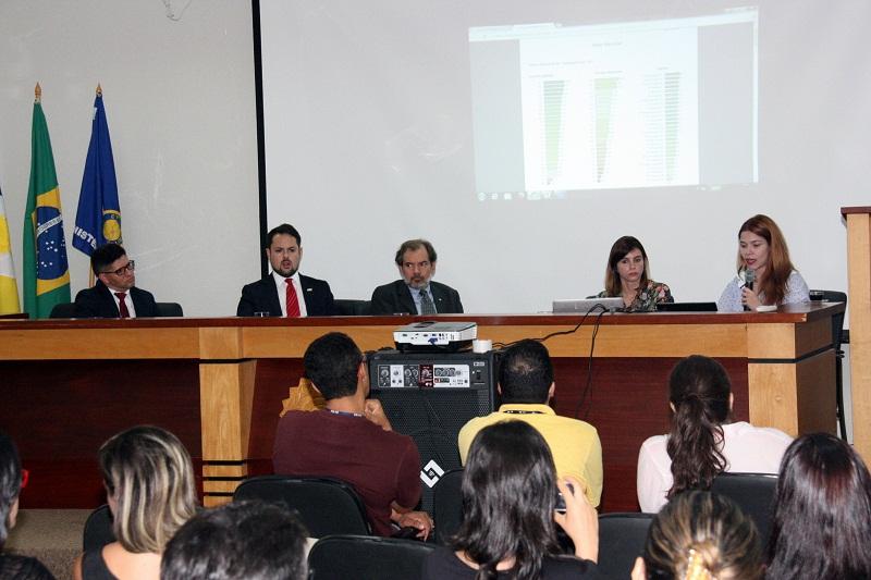 Membros do MPF durante apresentação do ranking