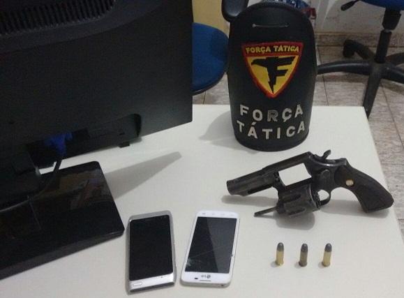 Arma apreendida em Cachoeirinha