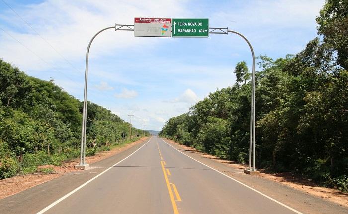 Pavimentação na MA 334 beneficia turismo local e eleva a qualidade de vida dos moradores. Foto: Jackson Martins