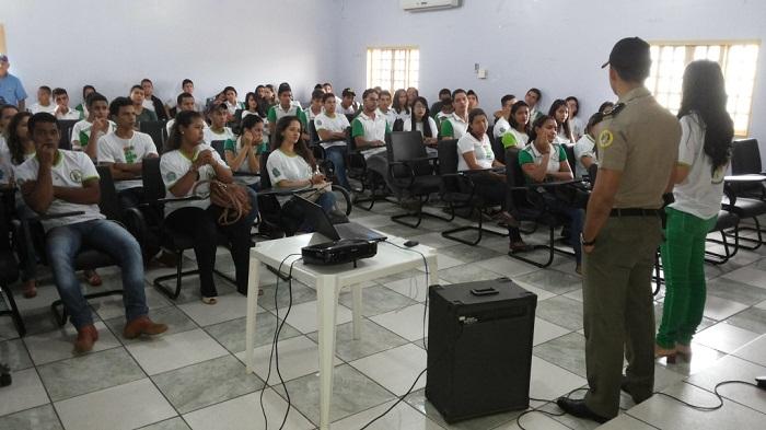 Palestra alunos do IFTO (2)