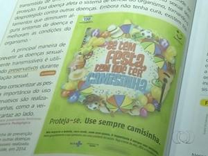 Livros para crianças incentivam uso da camisinha