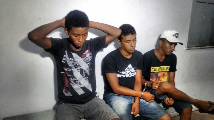 Meliantes presos pela Polícia maranhense