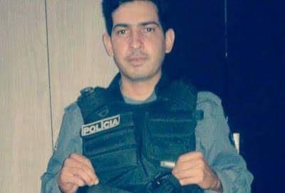 Soldado Erasmo Alves Cordeiro, vitima dos disparos