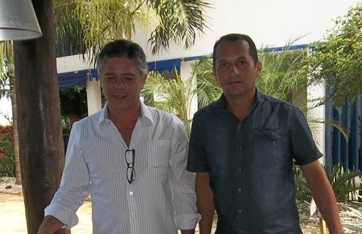 Presidente estadual do PPS, deputado Eduardo do Dertins e Ian Cavalcante