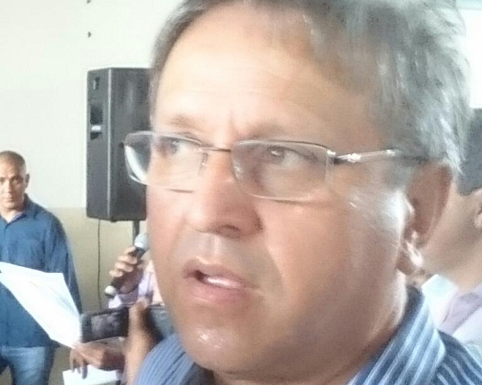 Marcelo Miranda durante eventos no Bico neste sábado