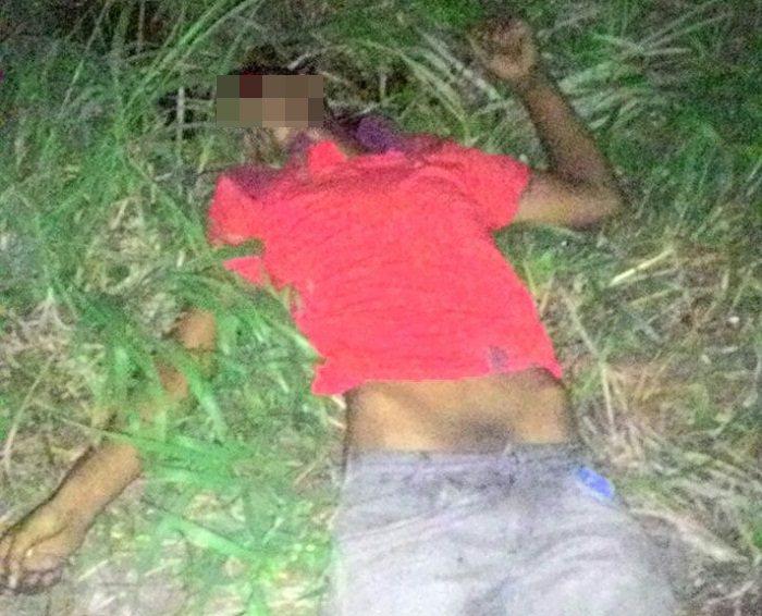 Traficante morto em confronto com a Polícia na noite desta segunda-feira na Vila Miranda