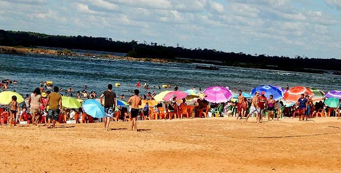 praia itaguatins