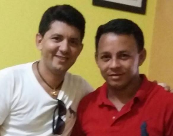 Pré-candidato a prefeito, Eudes Ribeiro e Otaniel Moreira, pré-candidato a vereador