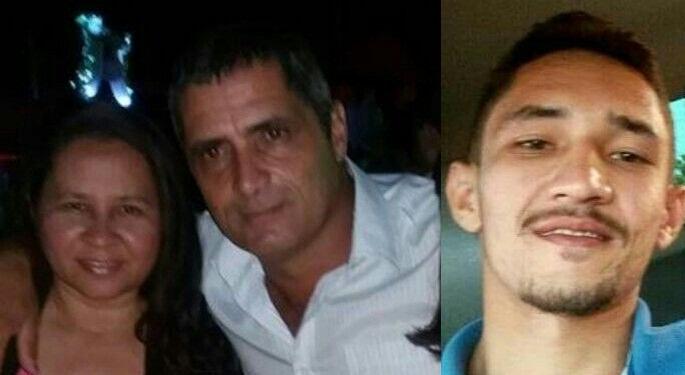 Rita da Cruz Souza, Atamir Nascimento de Souza e filho do casal Ronildo da Cruz Souza