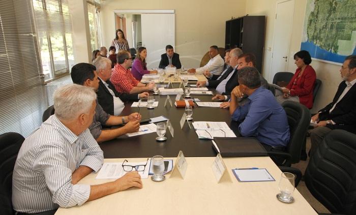 A reunião do CDE foi realizada nesta terça-feira, na Seden, em Palmas