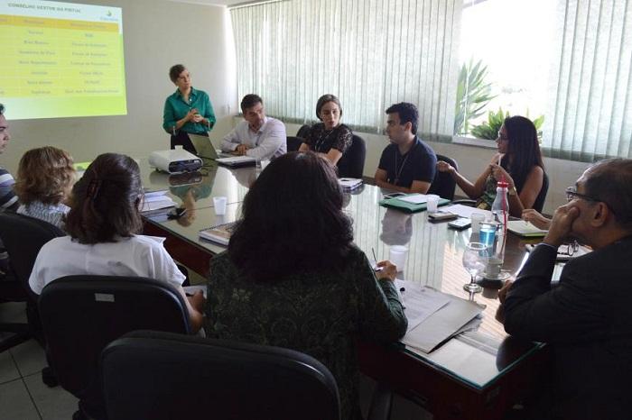 Participaram do encontro representantes do Instituto de Desenvolvimento Florestal e da Biodiversidade do Estado do Pará, Instituto Dialog e ONU Habitat, programa da Organização das Nações Unidas.