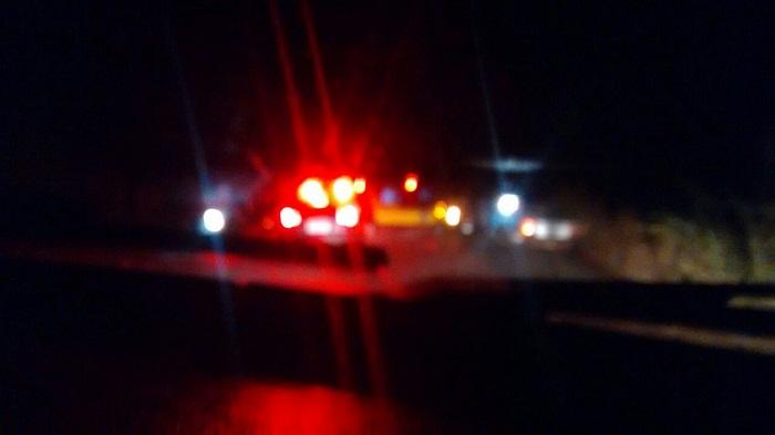 Foto tirada por internauta que passava pelo local no momento do atendimento