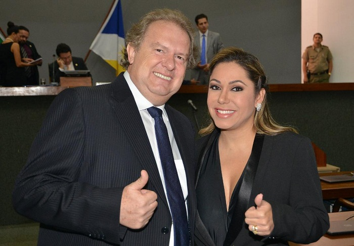 Mauro Carlesse e Luana Ribeiro foram eleitos para a presidência e vice-presidência, respectivamente