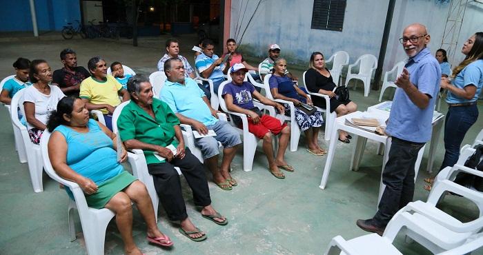 Mais de 15 catadores participaram da reunião sobre o Lixo & Cidadania em Araguatins