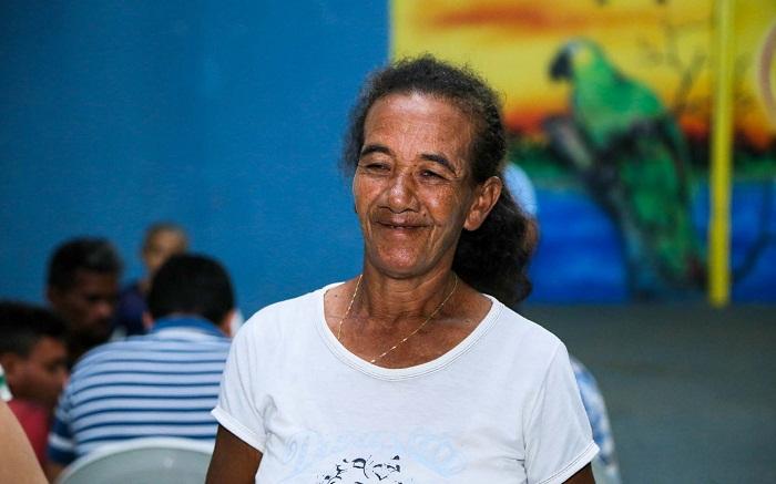 """""""É bom saber que tem pessoas pensando na gente"""", disse Maria sobre o Projeto"""