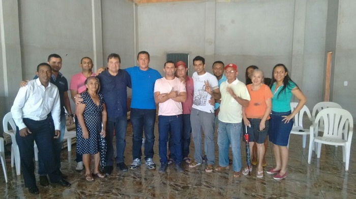 Presidente estadual do PRB, deputado César Halum, oficializa pré-candidatura de Paulo Lemos, na tarde desta sexta