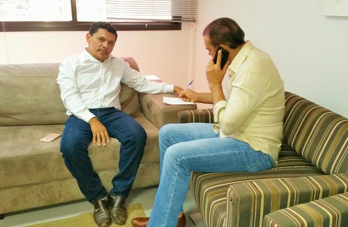 Alday acompanhou a conversa do senador com o superintendente do Banco do Brasil